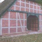 Restaurierung eines Fachwerkgiebels, Kindergarten Scheeßel